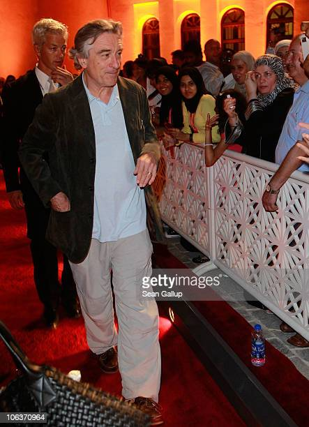 Actor and cofounder of the Tribeca Film Festival Robert De Niro attends the Awards Show and Closing Night Red Carpet and Screening of 'The First...