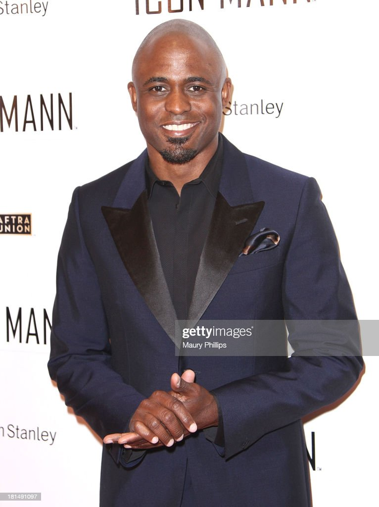 Actor and co-host of ICON MANN's Black Men in Entertainment & Multimedia Pre-Emmy Dinner <a gi-track='captionPersonalityLinkClicked' href=/galleries/search?phrase=Wayne+Brady+-+Actor&family=editorial&specificpeople=217495 ng-click='$event.stopPropagation()'>Wayne Brady</a> arrives at the ICON MANN's Black Men in Entertainment & Multimedia Pre-Emmy Dinner on September 20, 2013 in Beverly Hills, California.