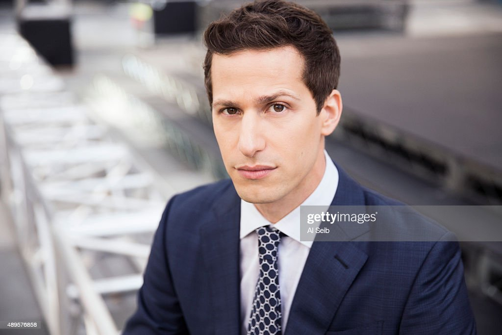 Actor and comedian <a gi-track='captionPersonalityLinkClicked' href=/galleries/search?phrase=Andy+Samberg&family=editorial&specificpeople=595651 ng-click='$event.stopPropagation()'>Andy Samberg</a> is photographed for Los Angeles Times on September 16, 2015 in Los Angeles, California. PUBLISHED IMAGE.