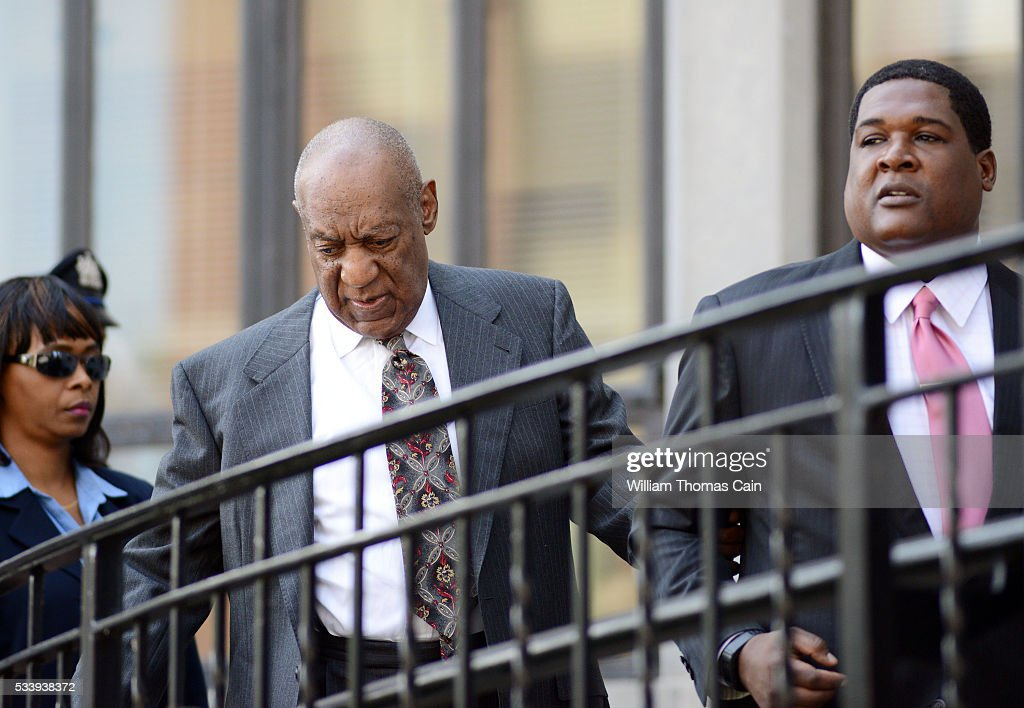 Actor and comedian Bill Cosby arrives for a preliminary hearing on sexual assault charges at Montgomery County Courthouse on May 24, 2016 in Norristown, Pennsylvania.