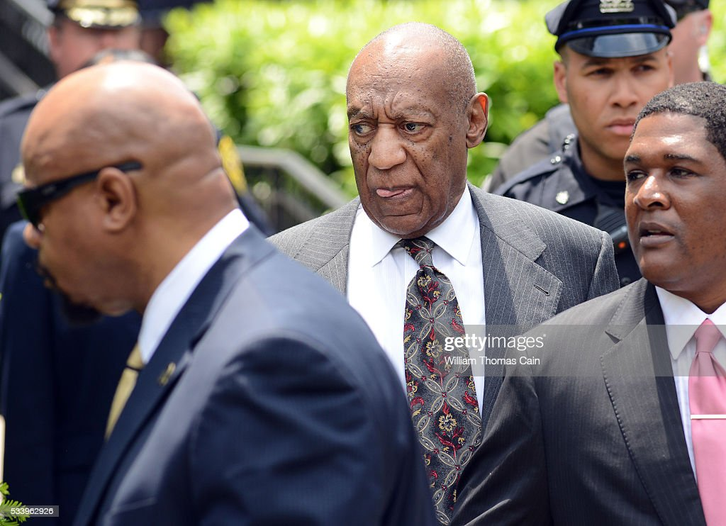 Actor and comedian Bill Cosby leaves a preliminary hearing on sexual assault charges on May 24, 2016 in at Montgomery County Courthouse in Norristown, Pennsylvania. Enough evidence was found to proceed with a trial, a Pennsylvania judge ruled.