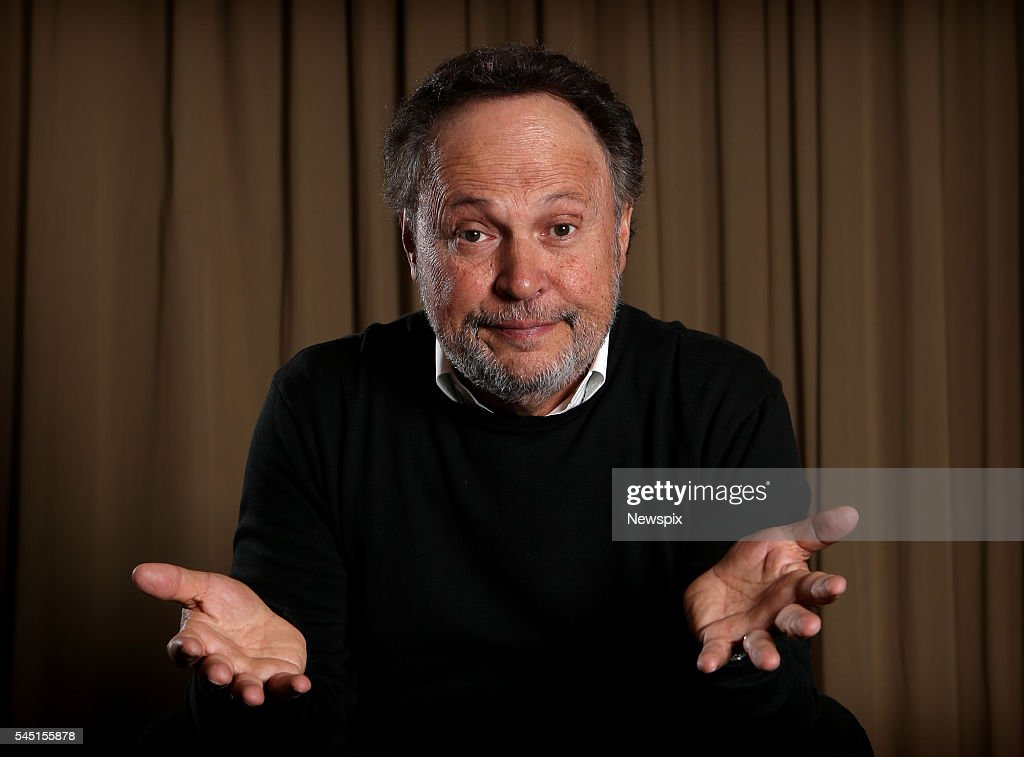Actor and comedian Billy Crystal poses during a photo shoot in Sydney, New South Wales.