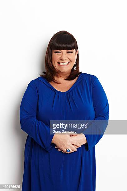Actor and comedian Dawn French is photographed for Good Housekeeping magazine on April 10 2013 in London England