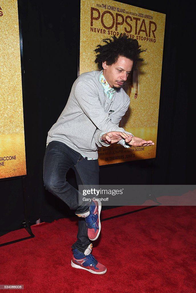 Actor and comedian Eric Andre attends the 'Popstar: Never Stop Never Stopping' New York premiere at AMC Loews Lincoln Square 13 theater on May 24, 2016 in New York City.
