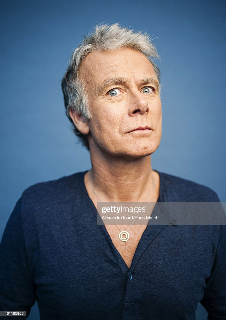 Actor and comedian Franck Dubosc is photographed for Paris Match on December 5, 2013 in Paris, France.