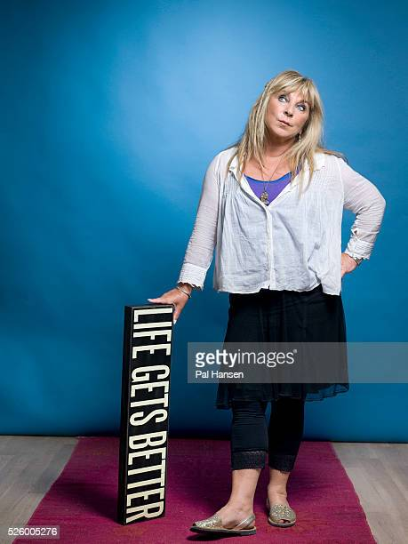 Actor and comedian Helen Lederer is photographed for Psychologies magazine on July 30 2015 in London England