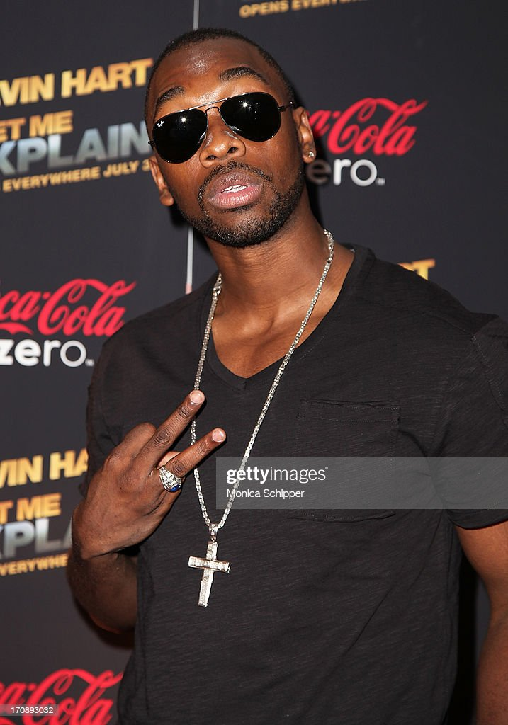 Actor and comedian <a gi-track='captionPersonalityLinkClicked' href=/galleries/search?phrase=Jay+Pharoah&family=editorial&specificpeople=7252581 ng-click='$event.stopPropagation()'>Jay Pharoah</a> attends the 'Kevin Hart:Let Me Explain' premiere at Regal Cinemas Union Square on June 19, 2013 in New York City.