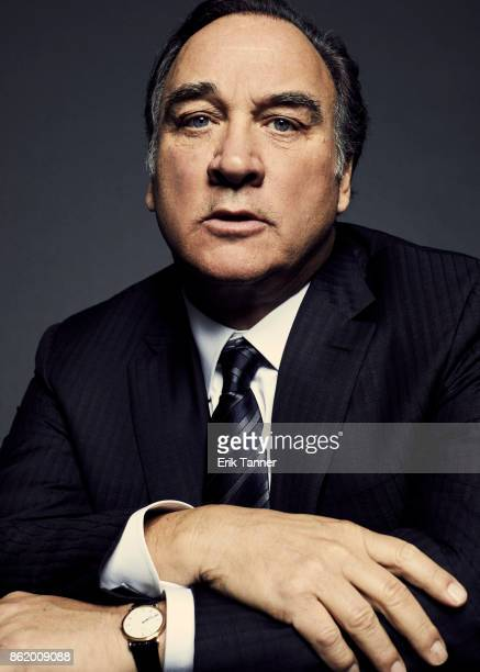 Actor and comedian Jim Belushi of 'Wonder Wheel' poses for a portrait at the 55th New York Film Festival on October 14 2017 Suit
