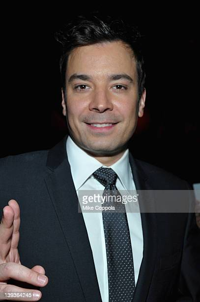 Actor and comedian Jimmy Fallon attends the 2012 Writers Guild East Coast Awards at BB King Blues Club Grill on February 19 2012 in New York City