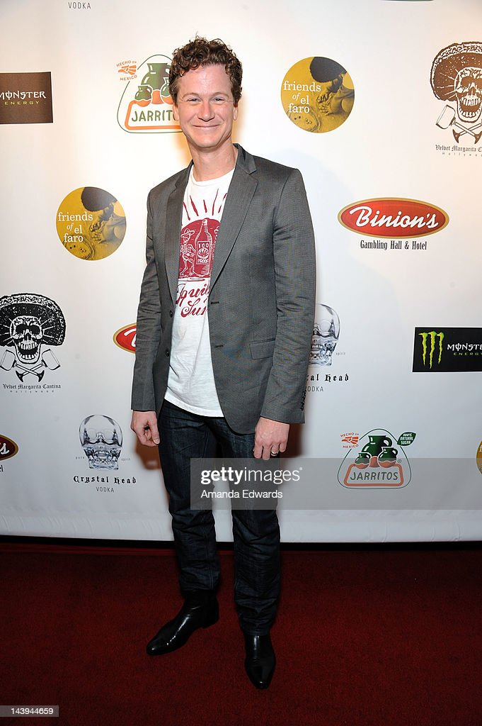 Actor and comedian Jonathan Mangum arrives at the 8th Annual Cinco de Mayo Benefit With Charity Celebrity Poker Tournament at Velvet Margarita Cantina on May 5, 2012 in Hollywood, California.