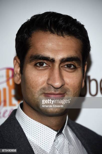 Actor and comedian Kumail Nanjiani arrives at the Lupus LA 15th Annual Hollywood Bag Ladies Luncheon at The Beverly Hilton Hotel on November 17 2017...