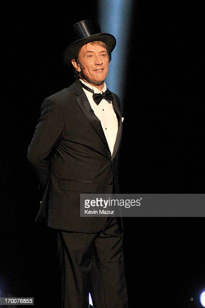 Actor and comedian Martin Short performs onstage during AFI's 41st Life Achievement Award Tribute to Mel Brooks at Dolby Theatre on June 6 2013 in...