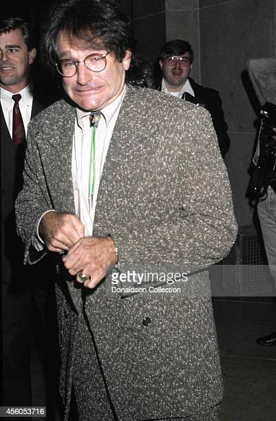 Actor and comedian Robin Williams attends the 51st Annual Golden Apple Awards on December 8 1991 in Los Angeles California