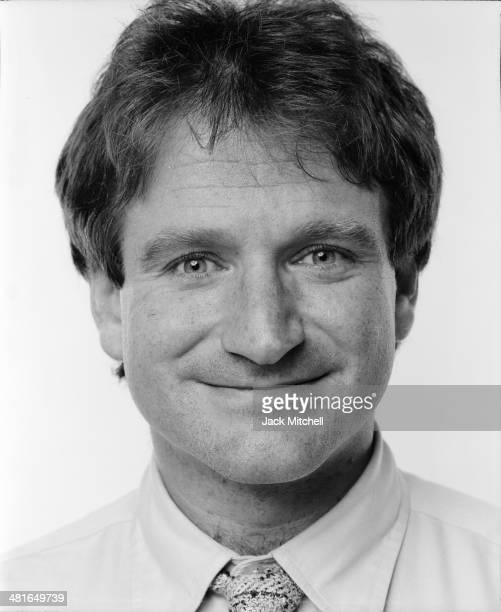 Actor and comedian Robin Williams photographed in April 1984