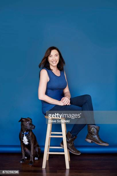 Actor and comedian Stephanie Courtney is photographed for Emmy magazine on May 13 2016 in Los Angeles California