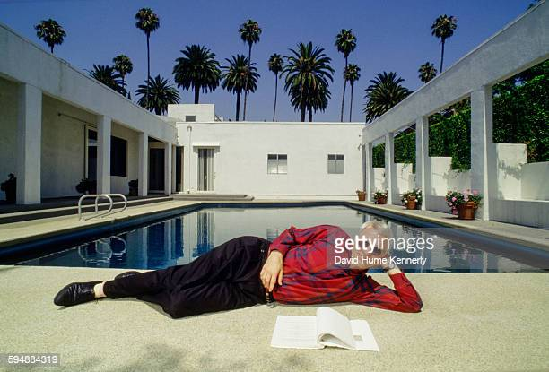 Actor and comedian Steve Martin poses at his private residence circa 1987 photo in Beverly Hills California