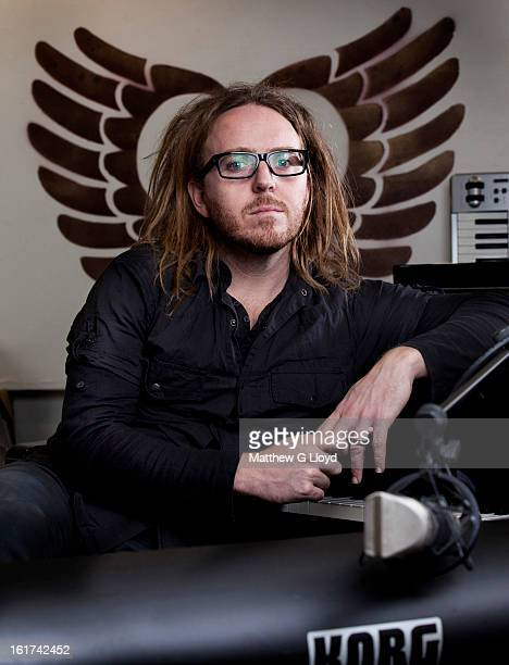 Actor and composer Tim Minchin is photographed for the Times on October 20 2011 in London England