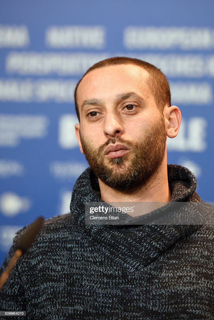 Actor and co-writer Tamer Nafar attends the 'Junction 48' press conference during the 66th Berlinale International Film Festival Berlin at Grand Hyatt Hotel on February 13, 2016 in Berlin, Germany.