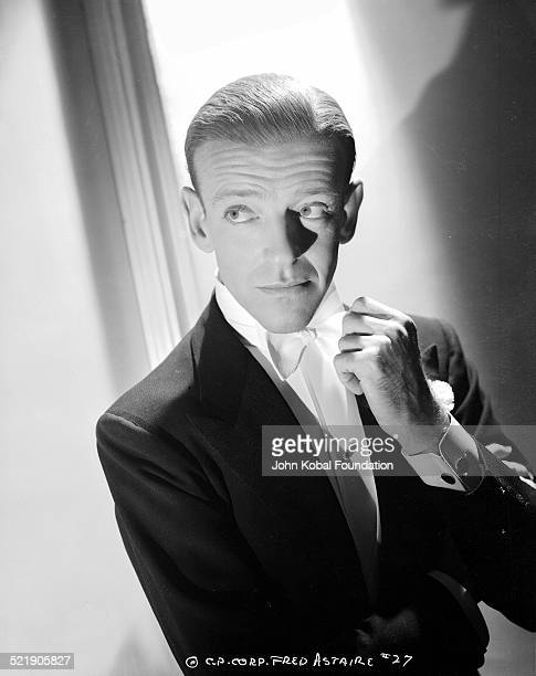 Actor and dancer Fred Astaire for Columbia Pictures in a promotional shot for the movie 'You'll Never Get Rich' 1941