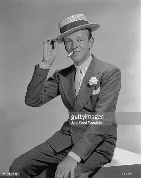 Actor and dancer Fred Astaire for MGM Pictures in a promotional shot for the movie 'Dancing Lady' 1933