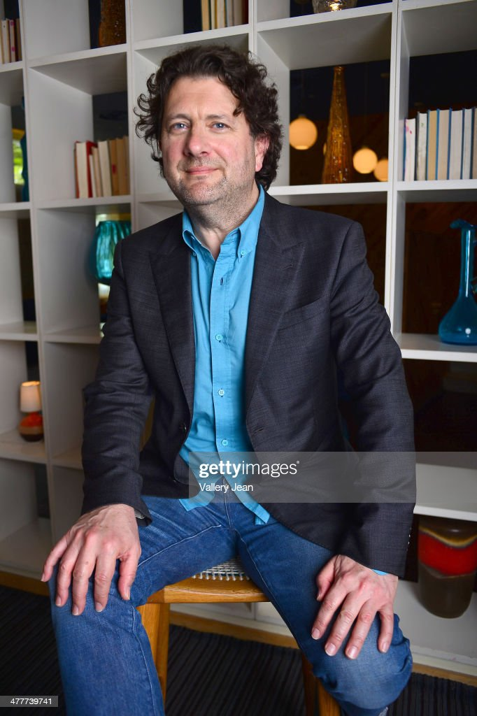 Actor and director Bernard Rose poses for a portrait session promoting his new film 'The Devil's Violinist' during the Miami International Film Festival 2014 at The Standard on March 10, 2014 in Miami Beach, Florida.