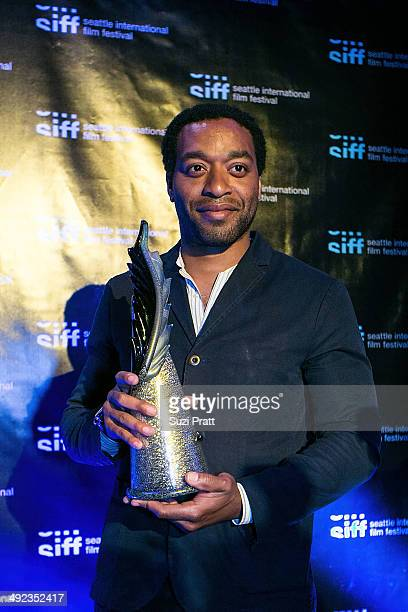 Actor and director Chiwetel Ejiofor attends the Seattle International Film Festival at the Egyptian Theater on May 19 2014 in Seattle Washington
