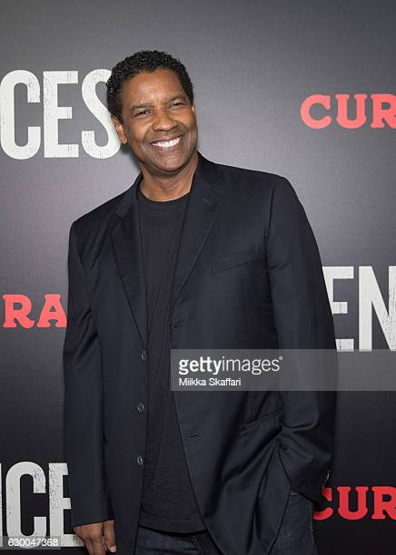 Actor and director Denzel Washington arrives at the Premiere of 'Fences' at Curran Theatre on December 15 2016 in San Francisco California