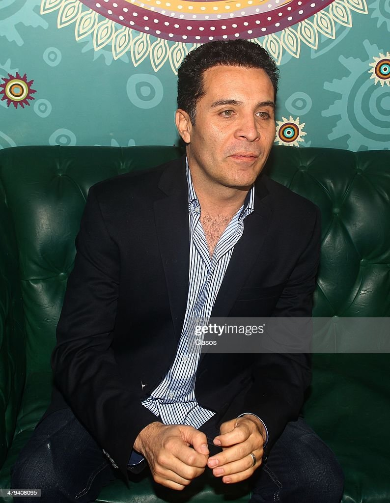 Actor and director, Felipe Najera, who is looking for a place in ANDA, during a press conference on March 17, 2014 in Mexico City, Mexico.