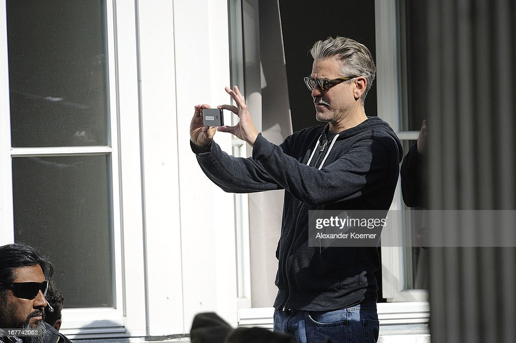 Actor and director <a gi-track='captionPersonalityLinkClicked' href=/galleries/search?phrase=George+Clooney&family=editorial&specificpeople=202529 ng-click='$event.stopPropagation()'>George Clooney</a> is seen on set of his current project 'The Monuments Men' on April 29, 2013 in Goslar, Germany. The film features several locations in the state of Lower Saxony and around Germany.