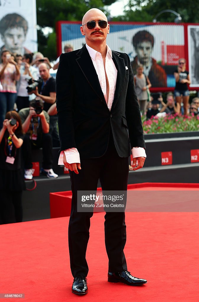 Actor and director James Franco attends 'The Sound And The Fury' Premiere during the 71st Venice Film Festival on September 5, 2014 in Venice, Italy.