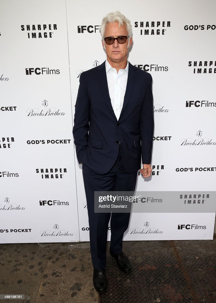 Actor and director John Slattery attends 'God's Pocket' screening at IFC Center on May 4, 2014 in New York City.