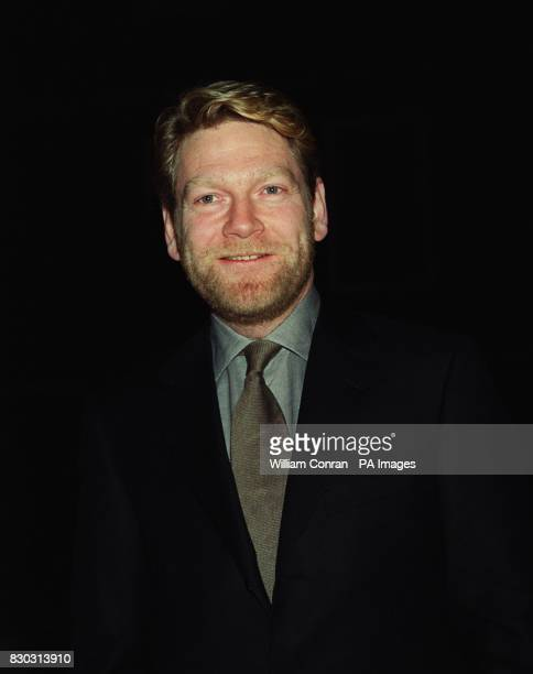 Actor and director Kenneth Branagh arrives at London's historic Middle Temple Hall where he received the John Gielgud Golden Quill Award given by...