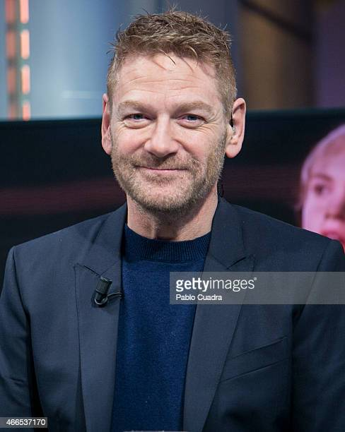 Actor and director Kenneth Branagh attends 'El Hormiguero' Tv show at Vertice Studio on March 16 2015 in Madrid Spain