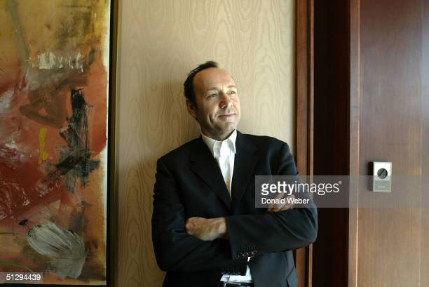 Actor and director Kevin Spacey attends the 'Beyond the Sea' portrait session during the 29th Annual Toronto International Film Festival September 12...