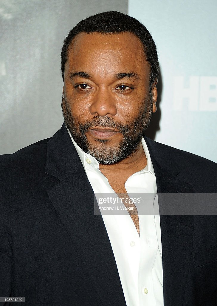 Actor and director Lee Daniels attends the HBO Films & The Cinema Society screening of 'Sunset Limited' at the Time Warner Screening Room on February 1, 2011 in New York City.