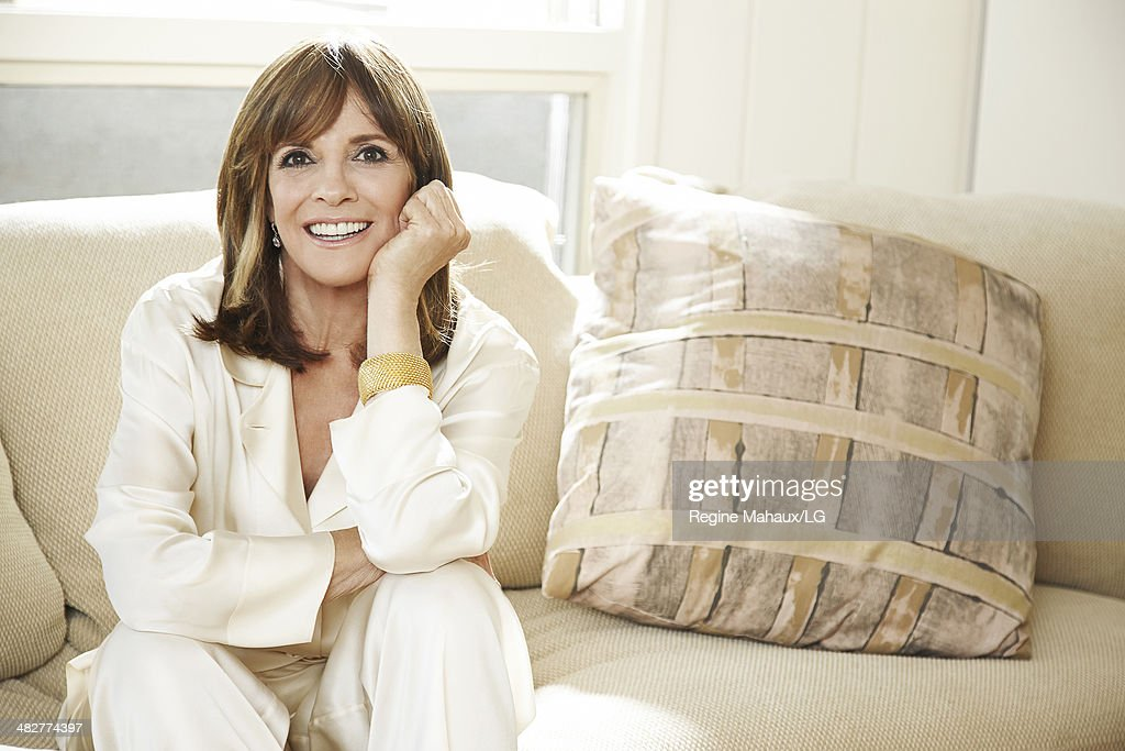 Actor and director Linda Gray is photographed in her home for Self Assignment on August 13, 2013 in Los Angeles, California.