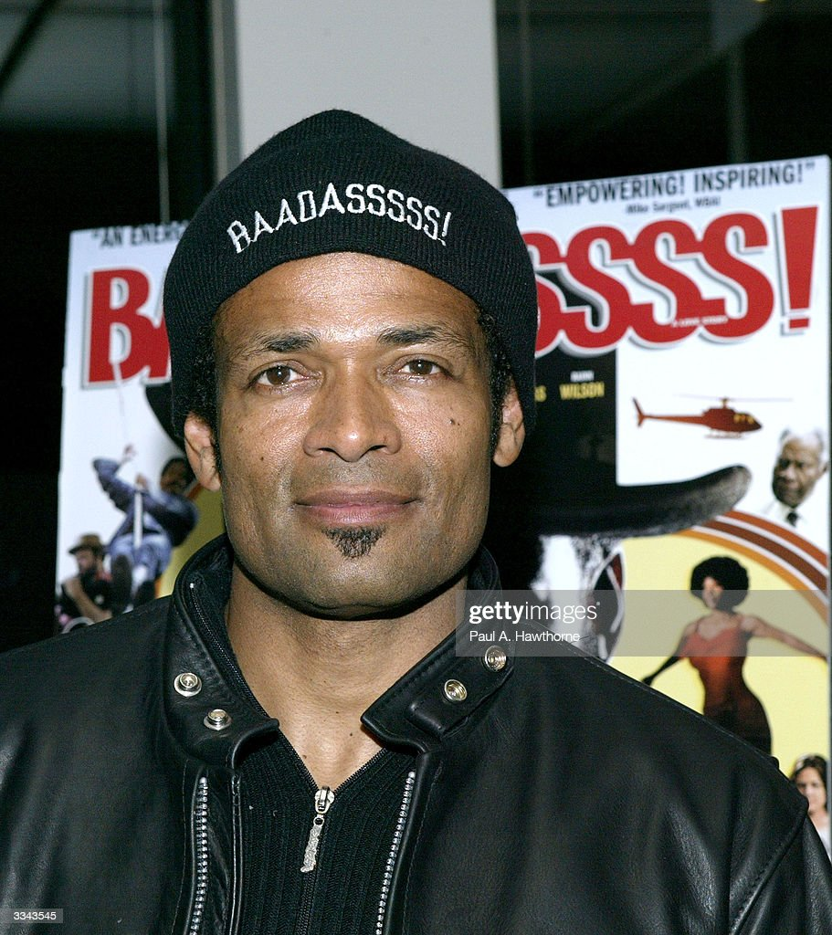 Actor and director Mario Van Peebles attends a viewing of 'Baadasssss!' at the Sony Screening Room April 12, 2004 in New York City.