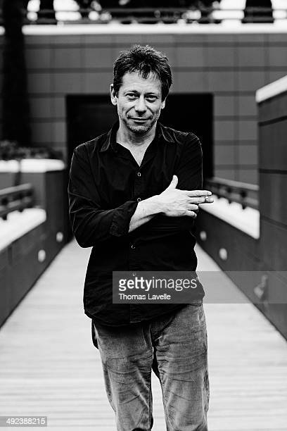 Actor and director Mathieu Amalric is photographed for Self Assignment on May 17 2014 in Cannes France