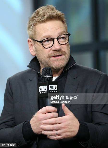 Actor and director Sir Kenneth Branagh discusses 'Murder on the Orient Express' at Build Studio on November 8 2017 in New York City