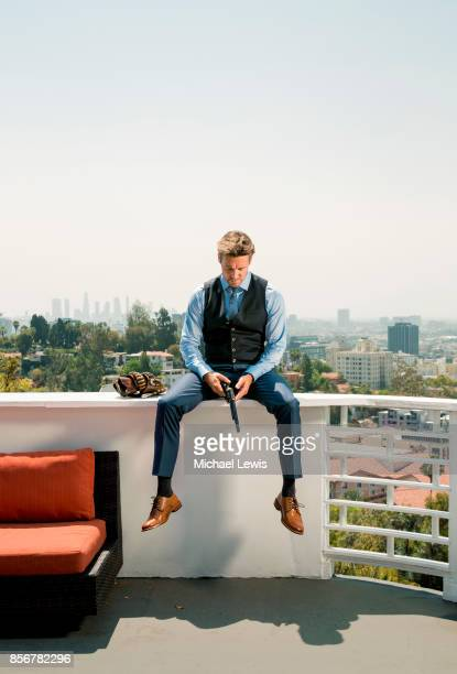 Actor and entrepreneur Ryan Wiik photographed for Variety on July 26 2017 in Los Angeles California