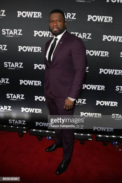 Actor and Executive Producer Curtis '50 Cent' Jackson attends the STARZ Original series 'Power' Season Four Premiere at The Newseum on June 8 2017 in...