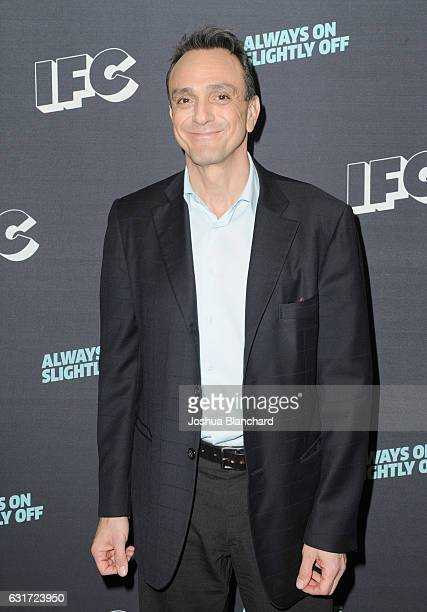 Actor and executive producer Hank Azaria attends the IFC presentation of Brockmire and Portlandia on January 14 2017 in Pasadena California