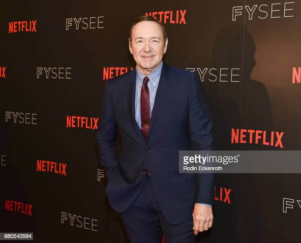 Actor and Executive Producer Kevin Spacey attends Netflix's 'House of Cards' For Your Consideration Event at Netflix FYSee Space on May 8 2017 in...