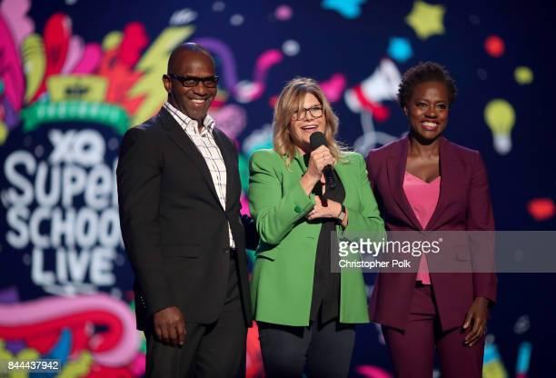 Actor and Executive Producer of EIF Presents XQ Super School Live Julius Tennonon President and CEO EIF Lisa Paulsen and Executive Producer of EIF...