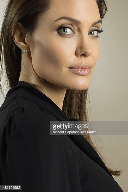 Actor and film director Angelina Jolie is photographed for Paris Match on November 26 2014 in Paris France
