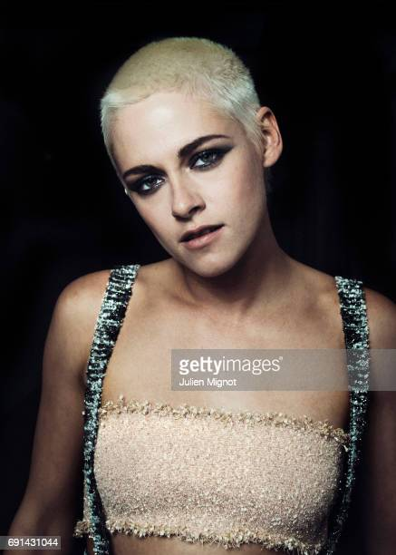 Actor and film director Kristen Stewart is photographed for Grazia magazine on May 20 2017 in Cannes France