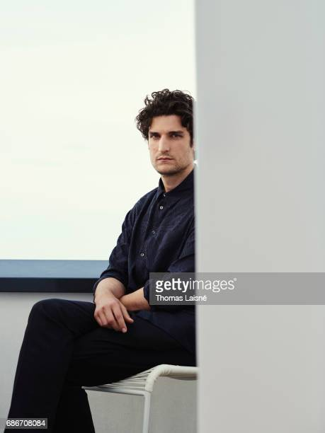 Actor and film director Louis Garrel is photographed on May 21 2017 in Cannes France