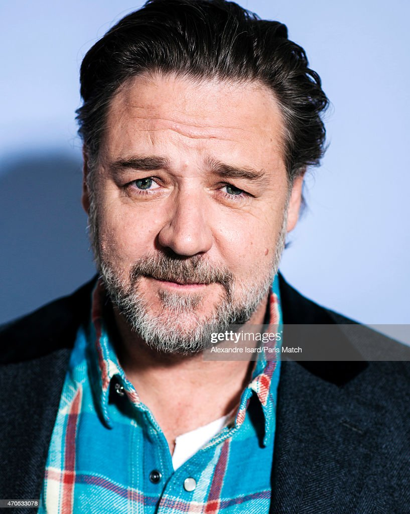 Actor and film director <a gi-track='captionPersonalityLinkClicked' href=/galleries/search?phrase=Russell+Crowe&family=editorial&specificpeople=202609 ng-click='$event.stopPropagation()'>Russell Crowe</a> is photographed for Paris Match on March 24, 2015 in Paris, France.