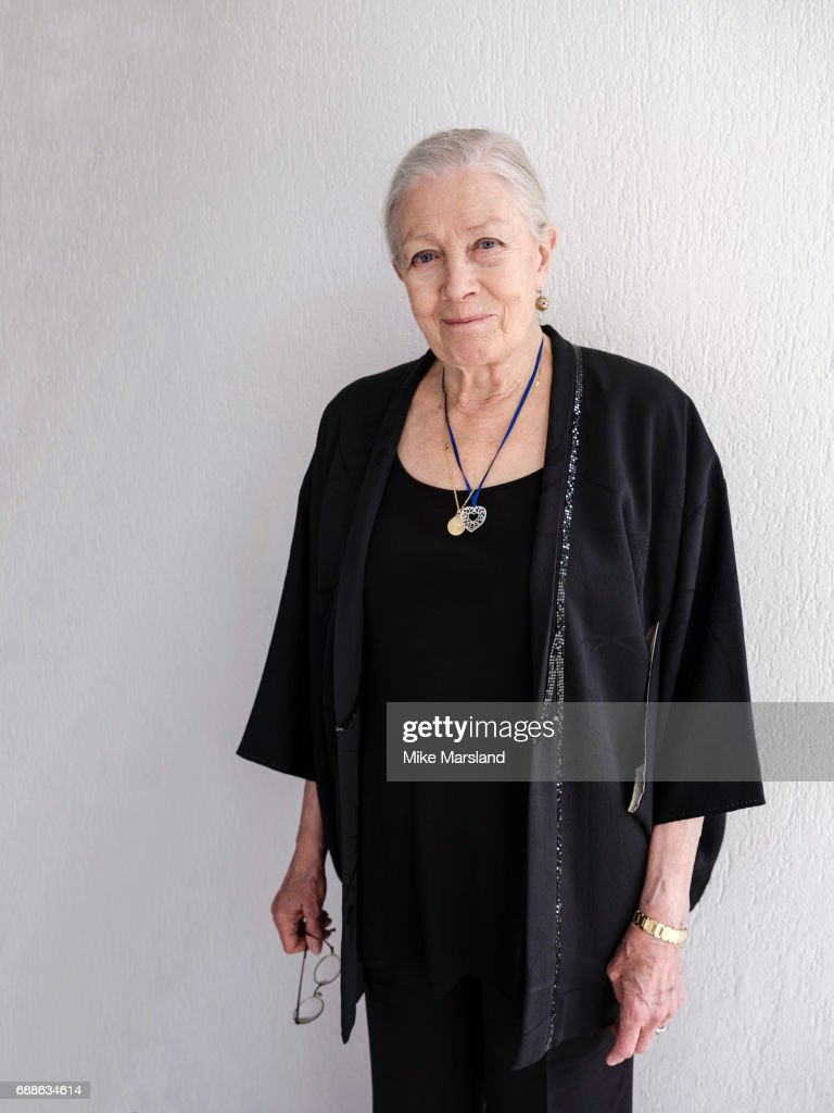 Actor and film director Vanessa Redgrave is photographed for the Observer on May 18, 2017 in Cannes, France.