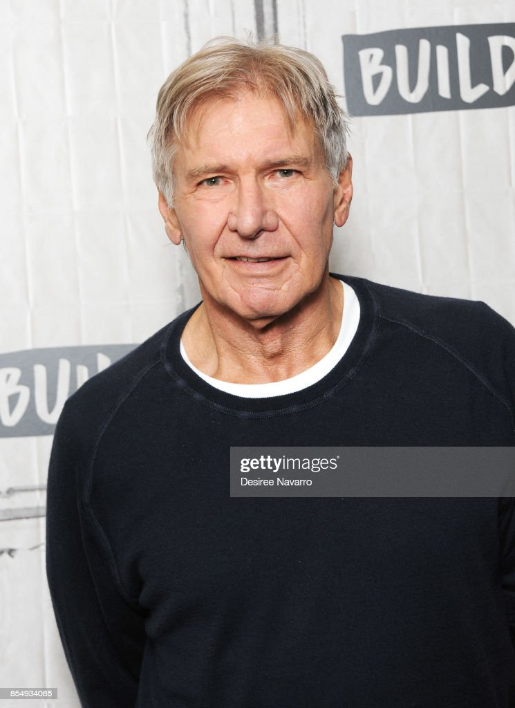 Actor and film producer Harrison Ford attends Build to discuss 'Blade Runner 2049' at Build Studio on September 27, 2017 in New York City.
